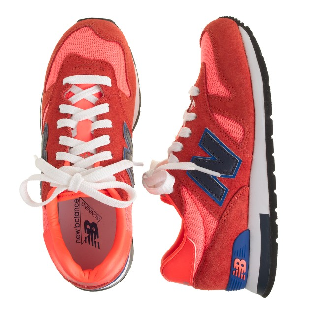 Kids' New Balance® for crewcuts K1300 lace-up sneakers in neon persimmon