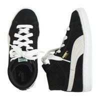 Kids' Puma® suede mid classic sneakers