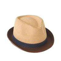 Kids' contrast brim trilby hat