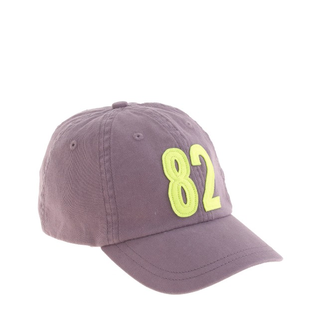 Kids' #82 baseball cap