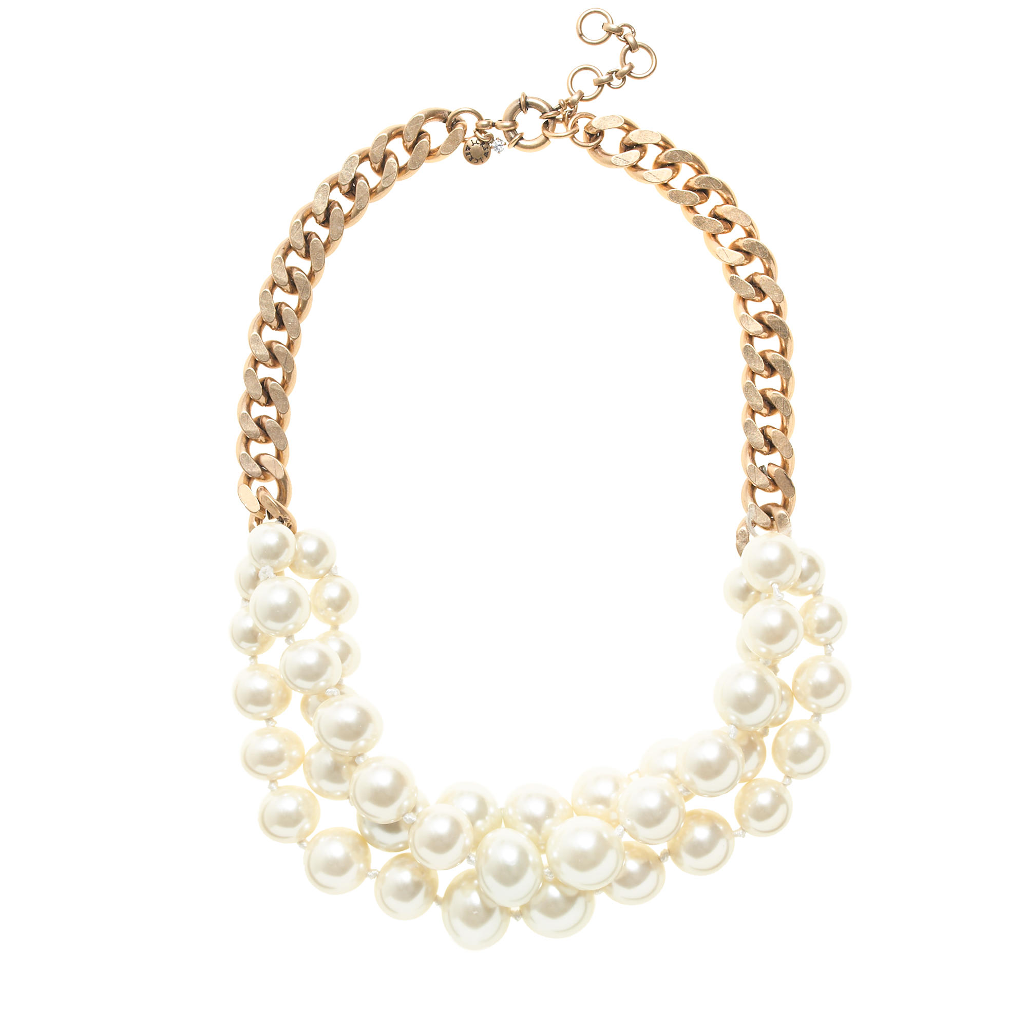 Twisted pearl necklace j crew for J crew jewelry 2015