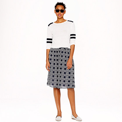 Double-dot skirt