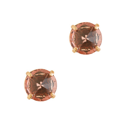 Glass point earrings