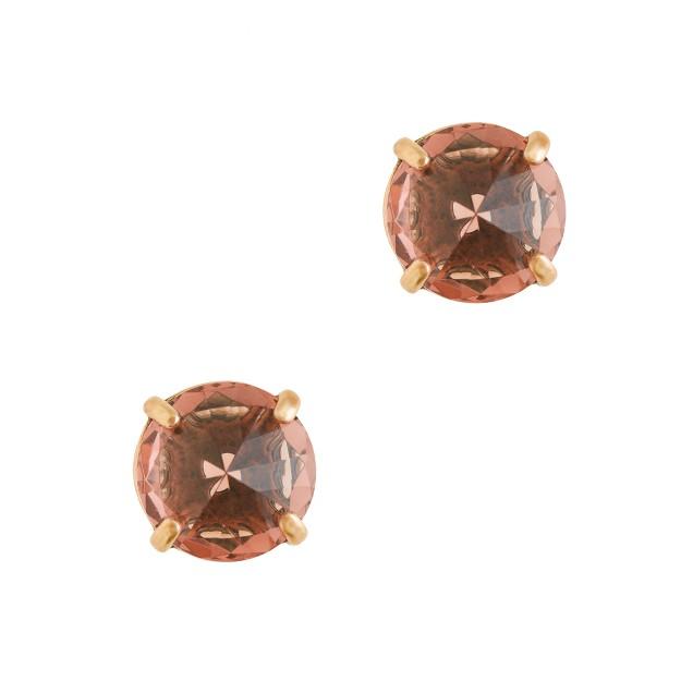 Glass point earrings