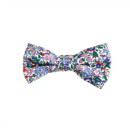 Boys' cotton bow tie in Liberty Emma and Georgina floral