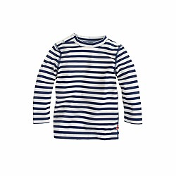 Baby rash guard in stripe