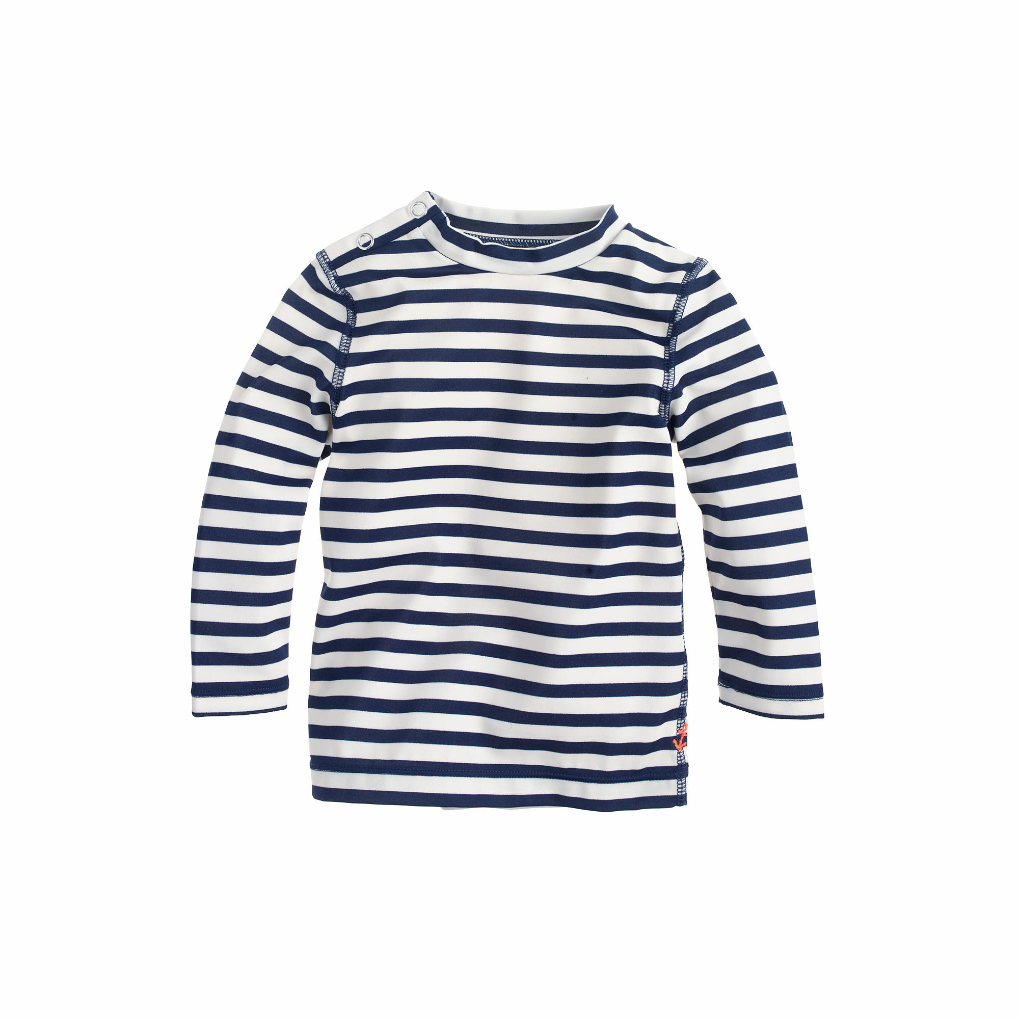 Baby rash guard in stripe swim j crew for Baby rash guard shirt