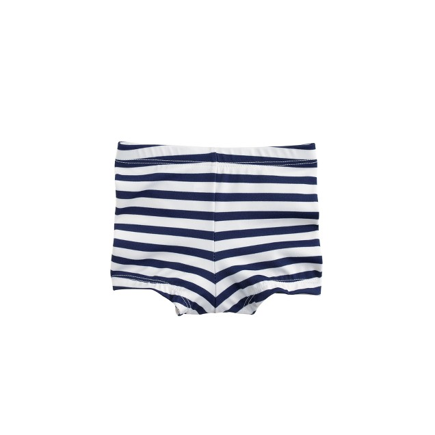 Baby swim short in sailor stripe