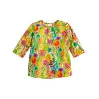 Baby tunic in Liberty tresco floral