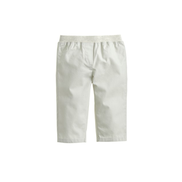 Baby pull-on pant in lightweight chino