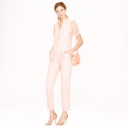 Collection eyelet jumpsuit
