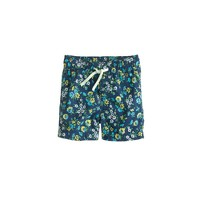 Baby swim trunk in haven blue floral