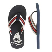 Kids' sail on flip-flops