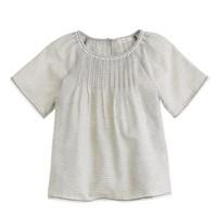 Girls' Pom-Pom stripe Tunic