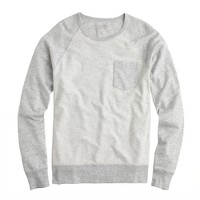 Lightweight colorblock sweatshirt