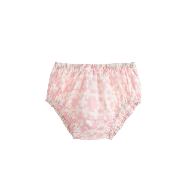Baby bloomers in clover print