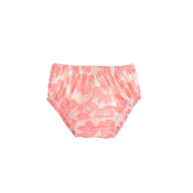 Baby bloomers in pink floral