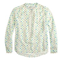 Collection chiffon wonder-dot blouse