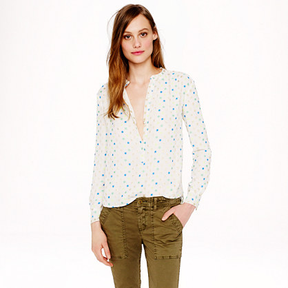 Collection chiffon wonder-dot blouse