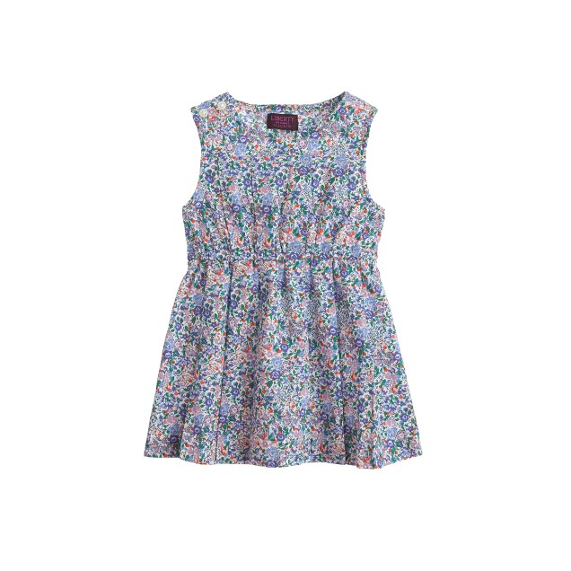 Baby dress in Liberty Emma and Georgina floral