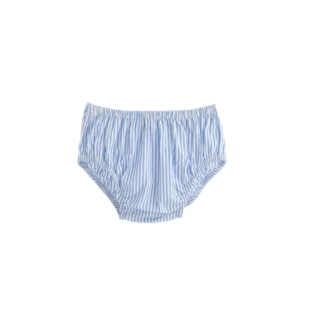 Baby bloomers in microstripe