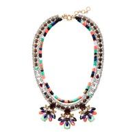 Stone burst necklace