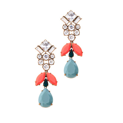 Crystal sky earrings