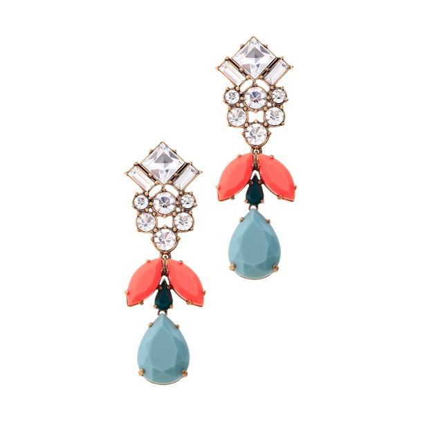 Crystal sky earrings