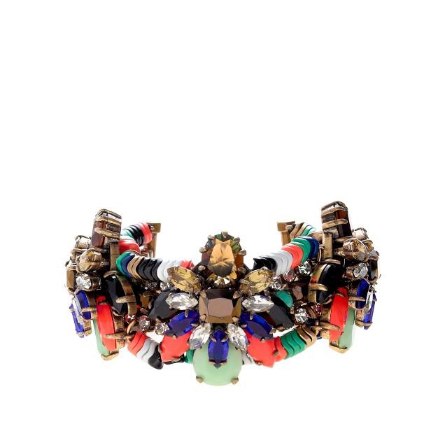 Stone burst bracelet