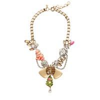 Crystal mélange necklace