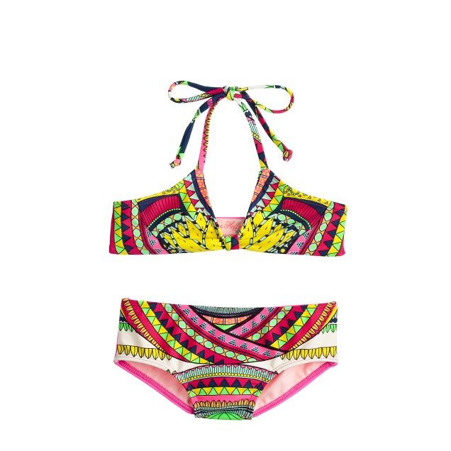 Girls' Mara Hoffman® elephant bikini set
