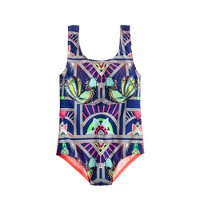 Girls' Mara Hoffman® bird print one-piece