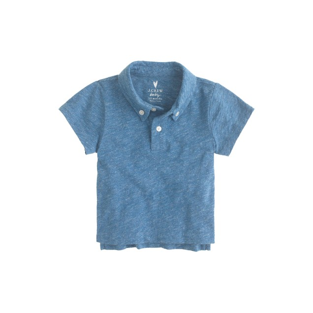 Baby jersey polo