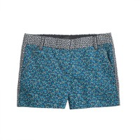 "3"" chino short in flowerpatch print"