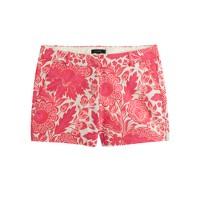 Pink floral short