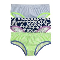 Girls' underwear three-pack