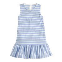 Girls' tankdress in stripe