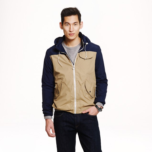 Penfield® two-tone Rochester rain jacket