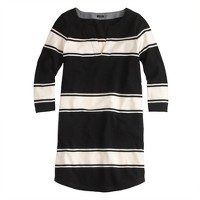 Maritime stripe tunic dress
