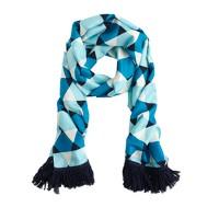 Silk triangles scarf