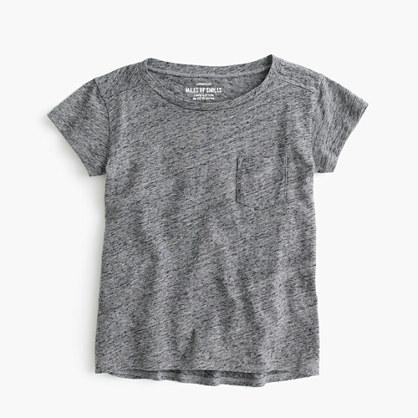 Girls' pocket T-shirt