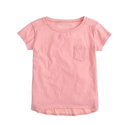 Girls' pocket T-shirt