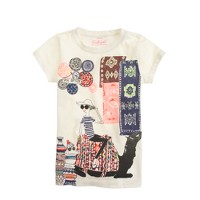 Girls' Olive in Morocco T-shirt