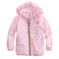 Girls' K-Way® Claude Klassic jacket in spring prints