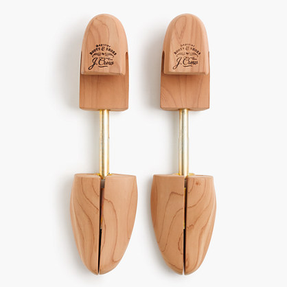 Aromatic red cedar shoe trees