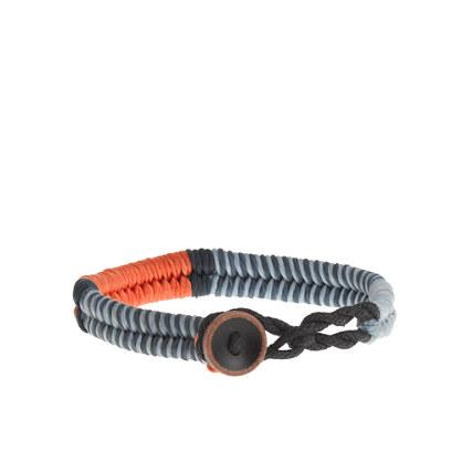 Kids' waxed cord bracelet