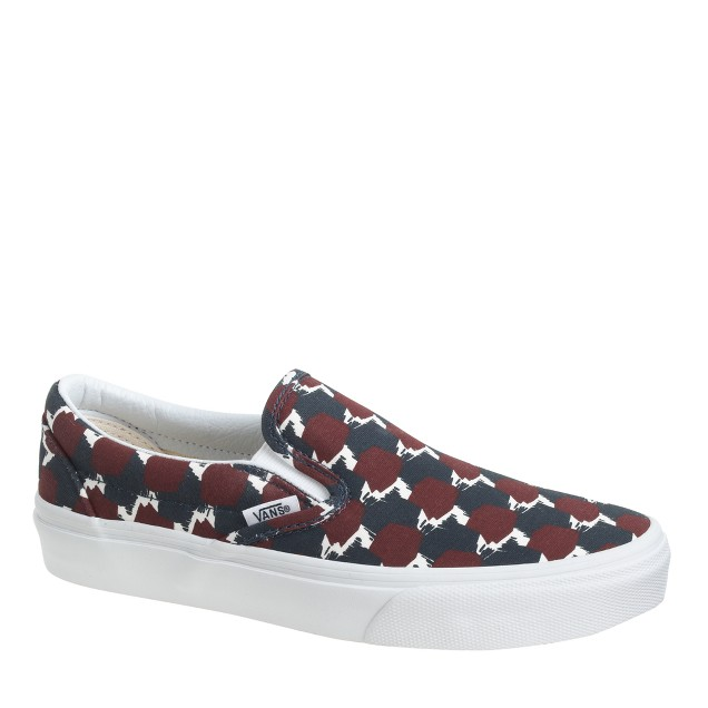 Unisex Vans® for J.Crew classic slip-on shoes