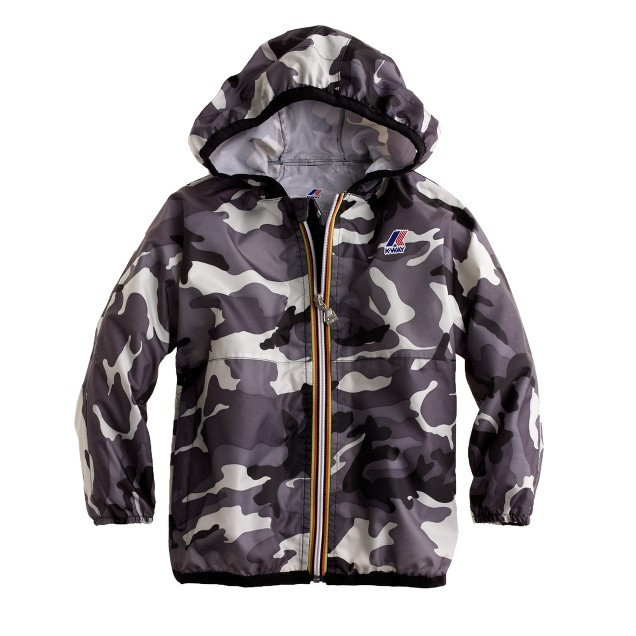 Boys' K-Way® Claude Klassic jacket in camo