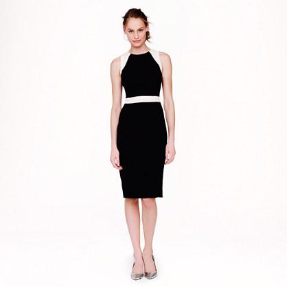 Gwen dress in colorblock