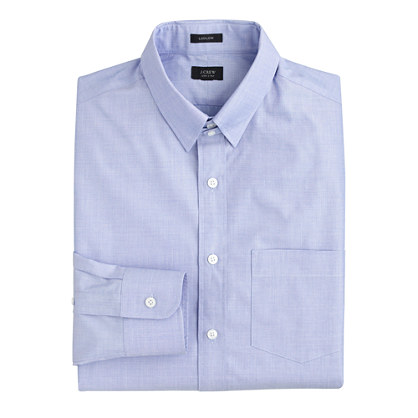 Ludlow tab-collar shirt in end-on-end cotton